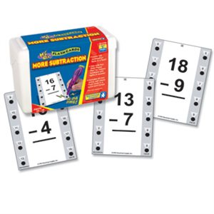 Hot Dots® Math Flash Cards More Subtraction