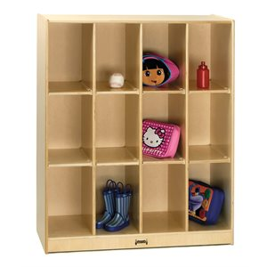 12 Cubbie Locker Storage