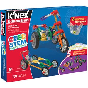 Stem Explorations: Vehicles Building Set