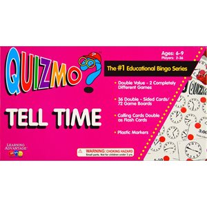 Tell Time QUIZMO®