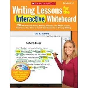 Writing Lessons for the Interactive Whiteboard, Grades 2-4