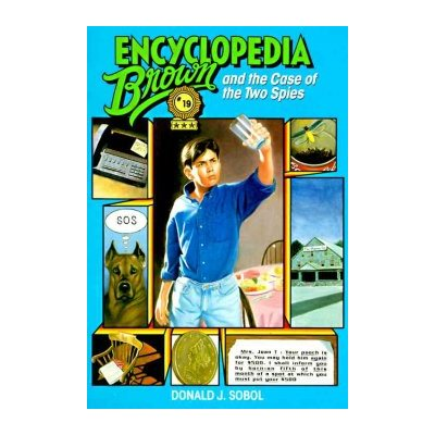 encyclopedia brown and the case of the two spies sobol donald j