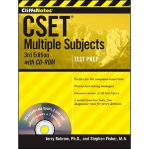 CliffsNotes CSET: Multiple Subjects with CD-ROM, 3rd Edition Multiple Subjects