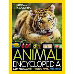National Geographic Animal Encyclopedia 2,500 Animals with Photos, Maps, and More!