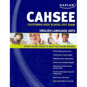 CAHSEE: California High School Exit Exam, English-Language Arts
