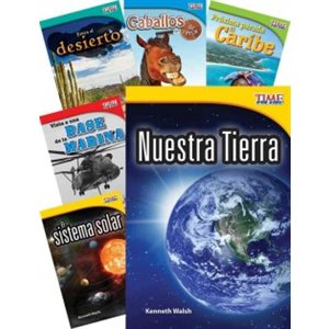 TIME FOR KIDS® Informational Text Grade 2 Spanish 30-Book Set
