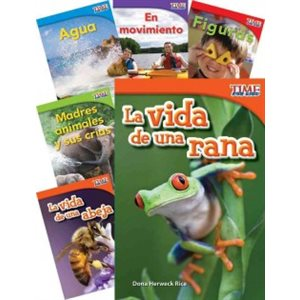 TIME FOR KIDS® Informational Text Grade 1 Readers Spanish 30-Book Set