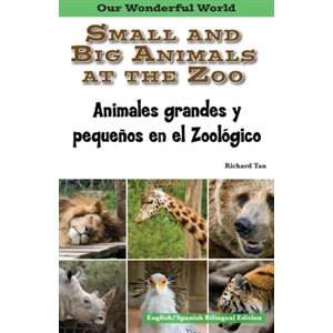 Animales grande y pequenos en el zoológico (Small And Big Animals At The Zoo)