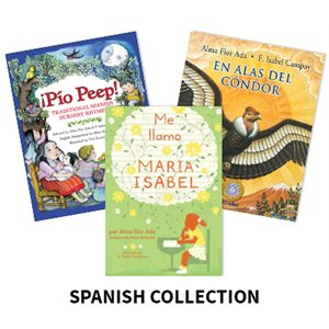 Alma Flor Ada Author Study  (10 Books) Spanish