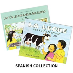 Aliki Author Study (4 Books) Spanish