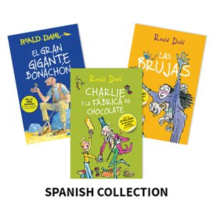 Roald Dahl Author Study (9 Books) Spanish