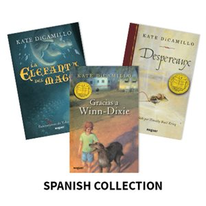 Kate DiCamillo Author Study (5 Books) Spanish