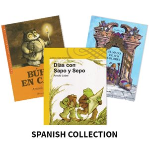 Arnold Lobel Author Study (3 Books) Spanish
