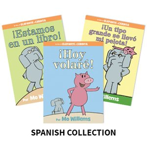Mo Willems Author Study (4 Books) Spanish