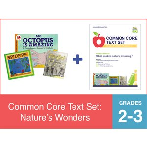 Common Core Text Set: Nature's Wonders (19 Bk Set)