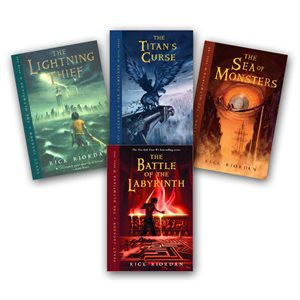 Percy Jackson and the Olympians (5 Bk Set)
