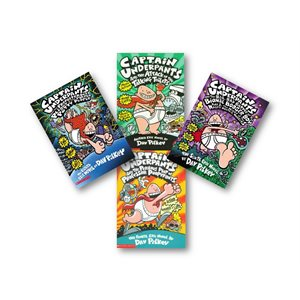 Captain Underpants (8 Bk Set)