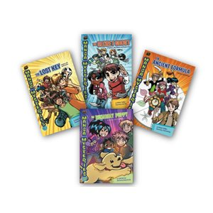 Manga Math Mysteries (7 Bk Set)