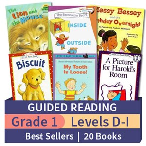 Guided Reading Collection: Grade 1 Best Sellers (20 books)