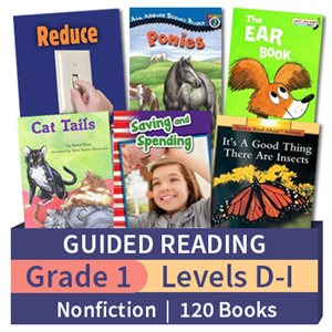 Guided Reading Collection: Grade 1 Nonfiction (120 books)