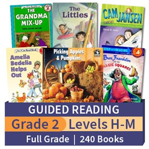 Guided Reading Collection: Grade 2 Full Grade (240 books)