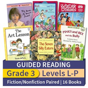 Guided Reading Collection: Grade 3 Fiction / Nonfiction Paired Studies (16 books)