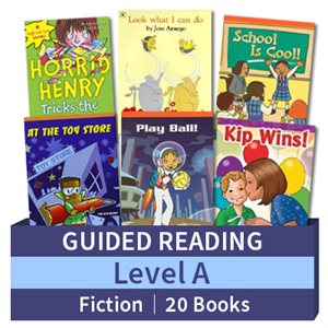 Guided Reading Collection: Level A Fiction (20 books)