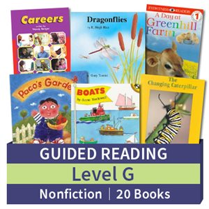 Guided Reading Collection: Level G Nonfiction (20 books)