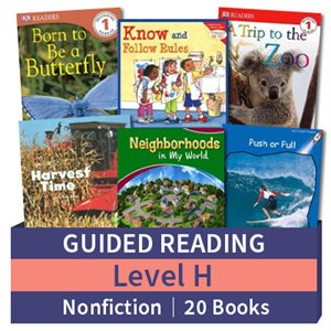 Guided Reading Collection: Level H Nonfiction (20 books)