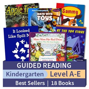 Guided Reading Collection: Kindergarten BestSellers (18 books)