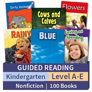 Guided Reading Collection: Kindergarten Nonfictionn (100 books)