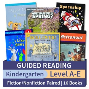 Guided Reading Collection: Kindergarten Fiction / Nonfiction Paired Studies (16 books)
