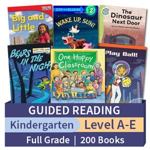 Guided Reading Collection: Kindergarten Full Grade (200 books)