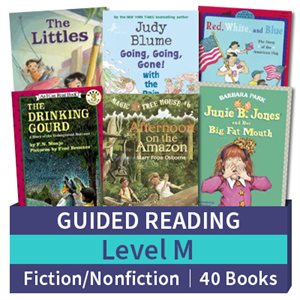 Guided Reading Collection: Level M Fiction and Nonfiction Combo (40 books)