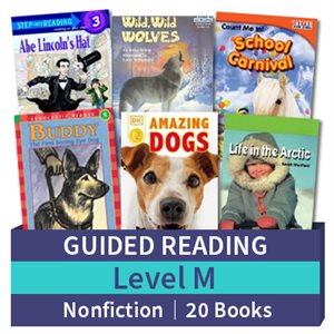 Guided Reading Collection: Level M Nonfiction (20 books)