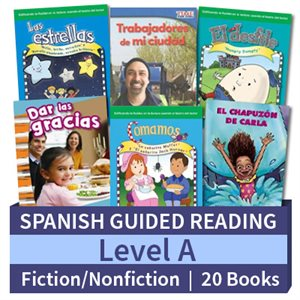 Guided Reading Collection: Spanish Level A Complete (20 Books)
