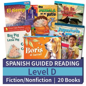Guided Reading Collection: Spanish Level D Complete (20 Books)