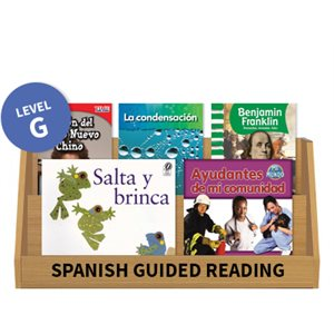 Guided Reading Collection: Spanish Level G Nonfiction (10 Books)