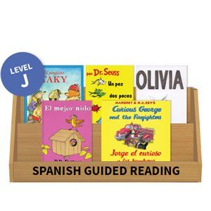 Guided Reading Collection: Spanish Level J Fiction (10 Books)