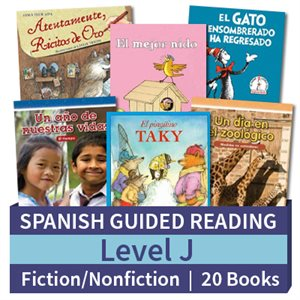 Guided Reading Collection: Spanish Level J Complete (20 Books)