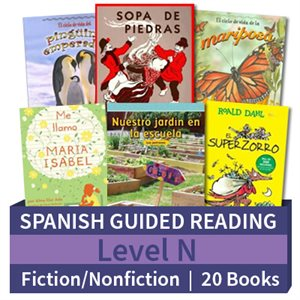 Guided Reading Collection: Spanish Level N Complete (20 Books)