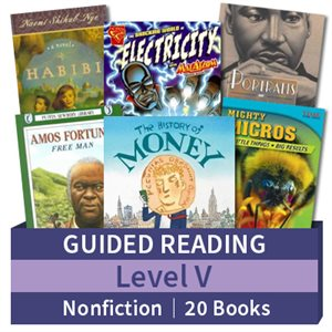 Guided Reading Collection: Level V Nonfiction (20 books)