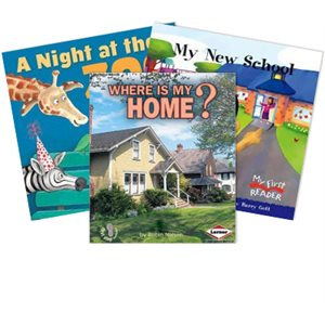 Journeys Grade 1 Unit 1- Around the Neighborhood (6 Books)