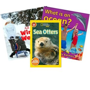 Journeys Grade 1 Unit 3- Nature Near and Far (6 Books)