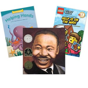 Journeys Grade 2 Unit 4- Heroes and Helpers (5 Books)