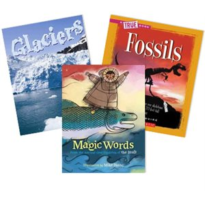 Journeys Grade 3 Unit 4- Natural Wonders (5 Books)