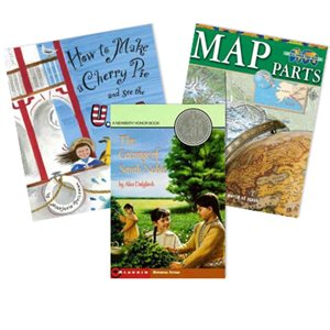 Journeys Grade 3 Unit 5- Going Places (5 Books)