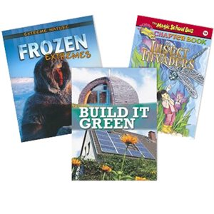Journeys Grade 4 Unit 3- Inside Nature (6 Books)
