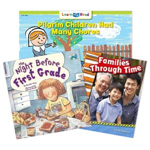 Wonders Grade 1- Changes Over Time (5 Books)