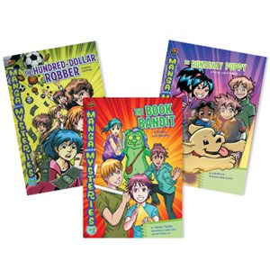 Manga Math Mysteries (8 Books)